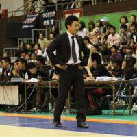 New challenge: Koto Toyama of the expansion Miyazaki Shining Suns is beginning his first season as a head coach in the bj-league. | MIYAZAKI SHINING SUNS / bj-league