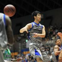 Playmaker: Guard Takumi Ishizaki, who starred for the Shimane Susanoo Magic last season, will play in Germany for the 2011-12 season. | KYODO PHOTO