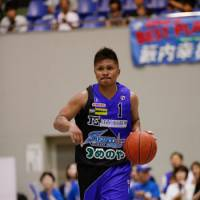 Solid start: Point guard Edward Yamamoto of the Shimane Susanoo Magic has 36 assists through four games. | SHIMANE SUSANOO MAGIC / BJ-LEAGUE
