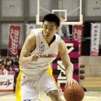 Change of venue: Takuya Komoda and the Sendai 89ers will begin play at Xebio Arena next season, giving the team a new base for home games in the city.   DOMINIKA FITZGERALD