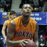 Learning experience: Jeremy Tyler played 34 games for the Tokyo Apache in 2010-11 before being selected in the second round of the NBA Draft. | YOSHIAKI MIURA