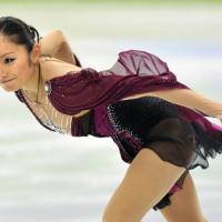 In the spotlight: Miki Ando will compete in the women's figure skating competition in the Vancouver Olympics starting on Tuesday. | KYODO PHOTO