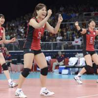 Japan begins Olympic volleyball tournament with victory