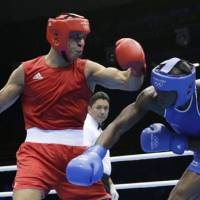 Jordanian boxer Almatbouli remembers humble roots