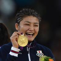 Second to none: Kaori Icho is leaving the Olympic Games with a gold medal for the third consecutive time. | AFP-JIJI