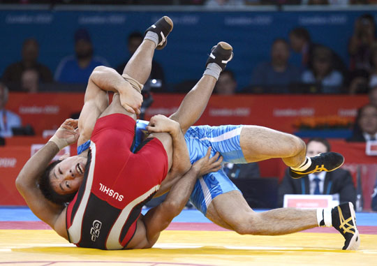 Yonemitsu takes Japan past the 38-medal milestone with his gold in freestyle wrestling