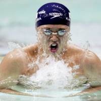 Kosuke Kitajima, the gold medalist in the 100- and 200-meter breaststroke events at the 2004 Athens Olympics returns to the spotlight this week at the 2007 FINA World Championships in Melbourne, Australia. | KYODO PHOTO