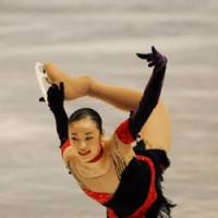 Formidable foe: South Korea's Kim Yu Na, a two-time winner of the Grand Prix Final, is Mao Asada's top rival for the gold medal at the 2010 Vancouver Games. | YOSHIAKI MIURA