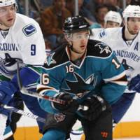 Key contributor: San Jose right wing Devin Setoguchi has 30 goals and 33 assists in his first full NHL season. The Sharks lead the league in points (117). | SAN JOSE SHARKS