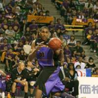 Feeling betrayed: Dameion Baker has been a key contributor for the Tokyo Apache during each of the team's four seasons. He can't understand why the club won't fulfill its financial obligation for his surgery and rehabilitation. | KAZ NAGATSUKA PHOTO