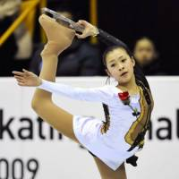 Big potential: Kanako Murakami won her second Junior Grand Prix title with a victory in Torun, Poland, last weekend. | KYODO PHOTO