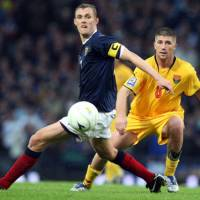 Ugly duckling: Scotland's Darren Fletcher has developed into the kind of assured midfielder that Japan's Makoto Hasebe should be looking to emulate. | AP PHOTO