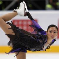 In form: Miki Ando, who won her first Grand Prix title in three yearsat the Rostelecom Cup in Moscow last month, is the favorite at this week's NHK Trophy in Nagano.   AP PHOTO