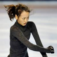 Stuck at practice: By skating in the first two Grand Prix events of the season and missing out on the Grand Prix Final, Mao Asada can do nothing but train for two months. | KYODO PHOTO