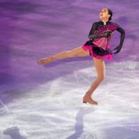 Join the party: Mao Asada booked her place at the Vancouver Olympics on Sunday. | KYODO PHOTO