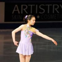 Future prospect: Teenager Eri Nishimura, a Tokyo native, won the Canadian junior title this month. | G.HSUEH/JAPANSKATES.COM