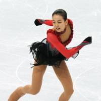 Gave it her all: Mao Asada, who took home the silver medal at the Vancouver Games, still has gold on her mind. | KYODO PHOTO