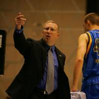Solid work: Ex-Shiga Lakestars coach Bob Pierce built a quality team from scratch in his two seasons at the helm, including its first playoff berth this season. | SHIGA LAKESTARS / bj-league