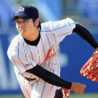 Rising stock: Pitcher Tatsuya Oishi was named to the All-Tournament team of the 5th World University Baseball Championship. | KYODO PHOTO