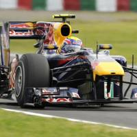 Important weekend: Red Bull's Mark Webber, who is first in the drivers' standings, can secure a championship with a win in Sunday's Japanese Grand Prix at the Suzuka circuit. | KYODO PHOTO