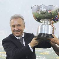 Magic touch: Alberto Zaccheroni led Japan to victory in the Asian Cup last month in his first tournament as an international manager. | KYODO PHOTO