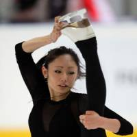 Solid bet: Miki Ando, the 2007 world champion, is the favorite in a strong field at this week's world championships in Moscow after several victories this season.   AP
