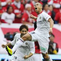 Don't stop: Jorge Wagner and Kashiwa Reysol head into the Club World Cup on Thursday as surprise J. League champions. | KYODO