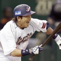 Offensive rhythm: Nobuhiro Matsuda played a big part in Japan's renewed swagger and run-scoring prowess during the WBC's games at Tokyo Dome. | KYODO