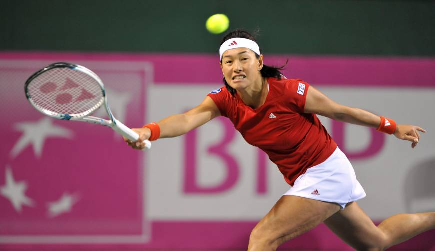 Japan takes Fed Cup lead