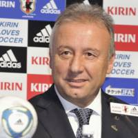 In the spotlight: Japan coach Alberto Zaccheroni calls up eight Europe-based players for January's Asian Cup in Qatar. | KYODO PHOTO