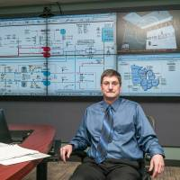 Eric Duncan, the Nuclear Regulatory Commission branch chief responsible for oversight of Byron and its sister plant in Braidwood, Illinois, sits in the NRC's Region III Incident Response Center in Lisle, Illinois, in December. | Andrew Borowiec