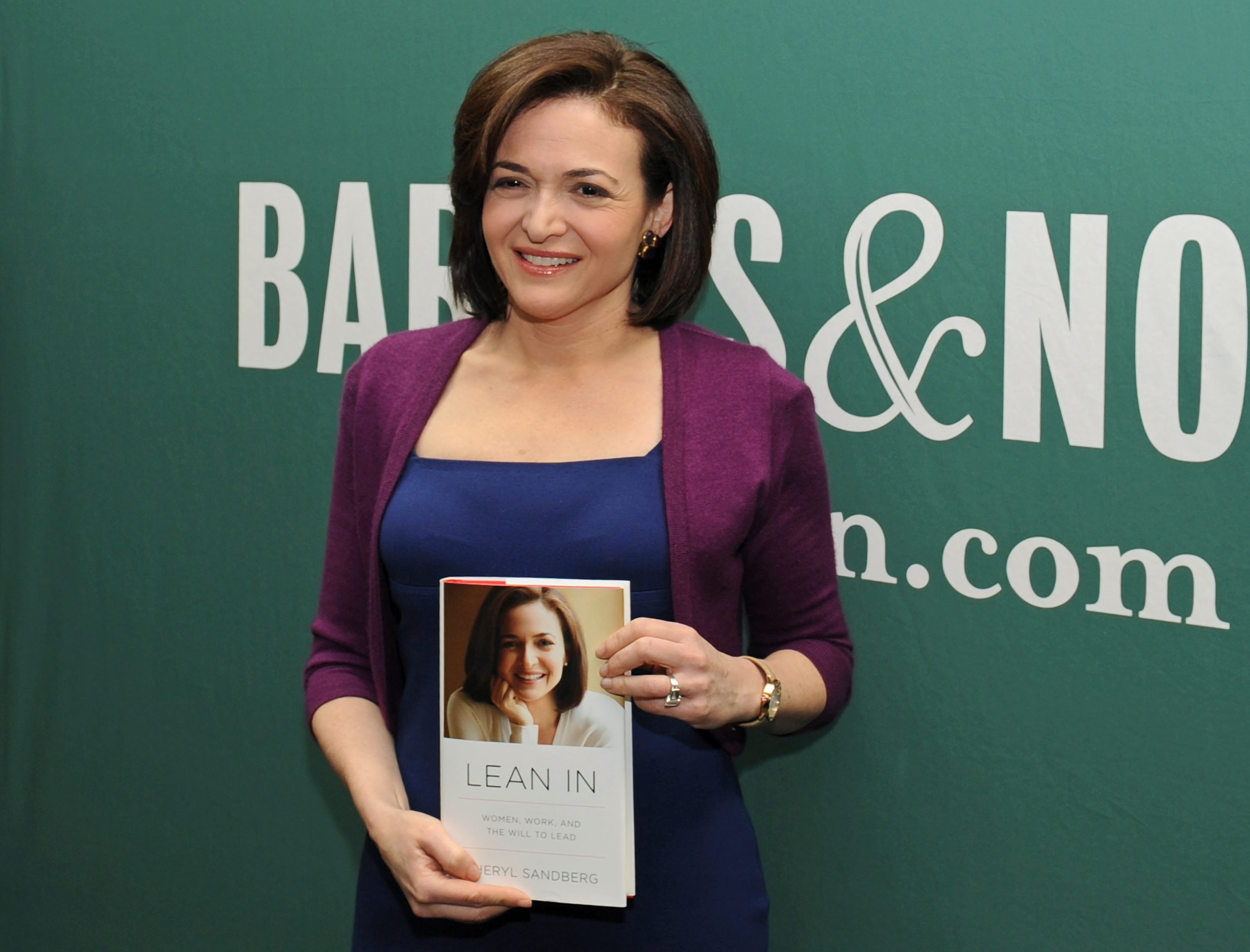 A feminist manifesto?: Sheryl Sandberg, who worked at the U.S. Treasury Department during the Clinton administration before making a fortune in Silicon Valley, wants to help other women reach the same lofty heights that she has scaled. Her new book is titled 'Lean In: Women, Work and the Will to Lead.' | BLOOMBERG