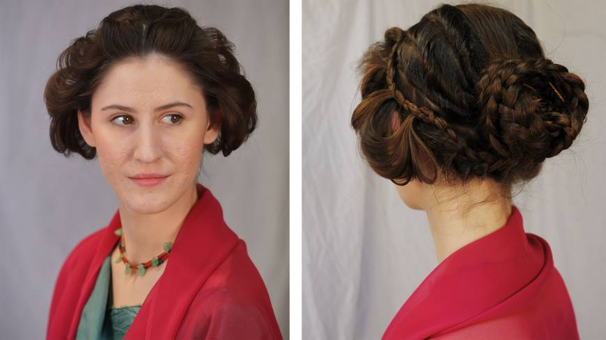Hairstylist revives coiffs of antiquity