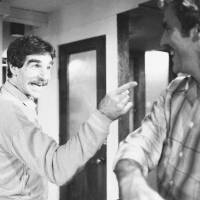 Versatile: 'Deep Throat' porn star Harry Reems rehearses for his theater debut in New York in November 1979. | AP