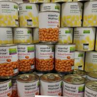Essential: Peacock imports Waitrose items including baked beans. | REBECCA MILNER