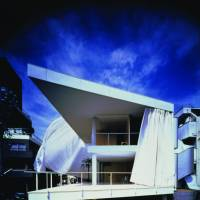Shigeru Ban is also known for his residential architecture, such as 1995's Curtain Wall House, Tokyo. | HIROYUKI HIRAI