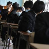 Teach to test: Many foreign parents worry about the emphasis on rote learning at Japanese schools, not to mention the financial cost. | AP