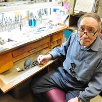 Time keeper: Born in Hokkaido in 1944, Iwao Tsumura learned watchmaking in Switzerland and has been repairing timepieces in Montreal for 40 years. | TIM HORNYAK