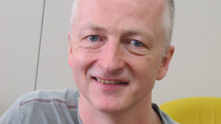 John E. McGrath, artistic director of the National Theatre Wales.