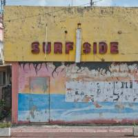 Streets gallery: The cruel light of day reveals a nightspot's tackiness. | STEPHEN MANSFIELD