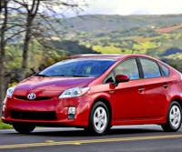 Testing the limits: The new 2010 Toyota Prius hybrid is driven through Napa County, Calif., on Feb. 26.   BLOOMBERG