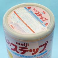 Stepped-up screening: Some cans of Meiji Co.'s Meiji Suteppu (Meiji Step) formula milk have been found to be contaminated with low levels of radioactive cesium. | KYODO