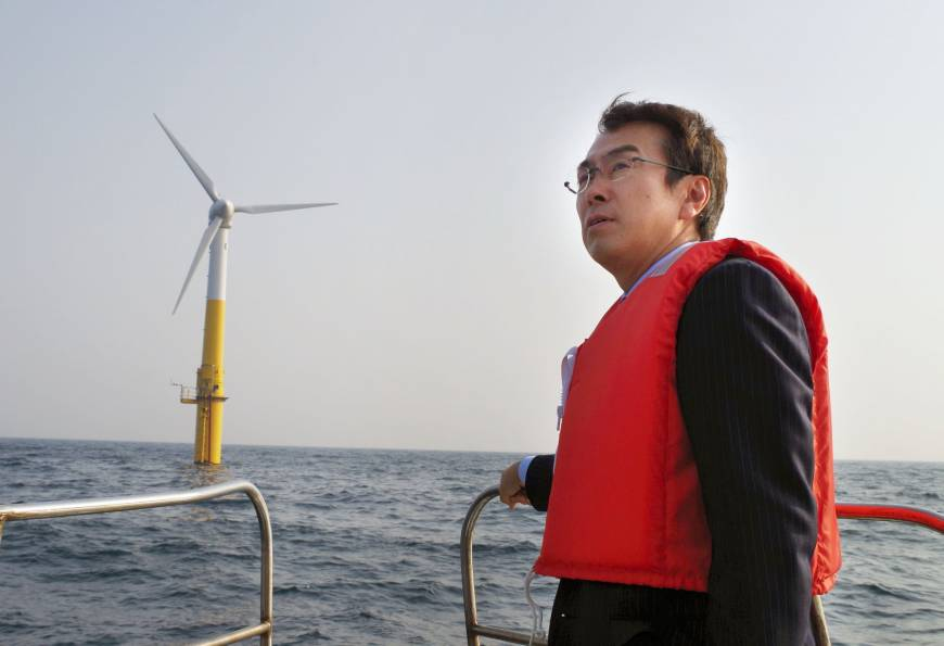 Project tests viability of offshore floating wind turbines