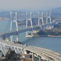 11 cracks in Seto Ohashi Bridge still not fixed three years later