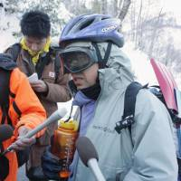Search on for missing climber after Nagano avalanche