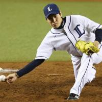 Lions' Makita tosses eight-hit shutout