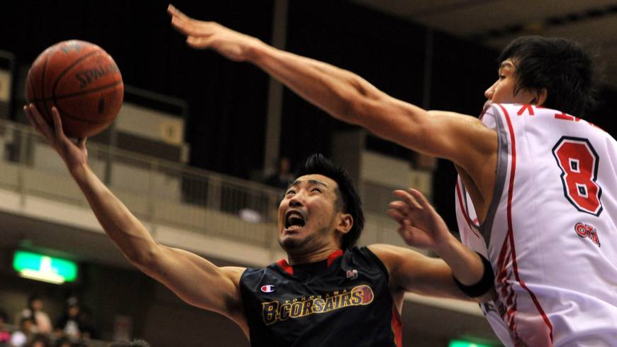 Quality scorer: Yokohama's Masayuki Kabaya is averaging 12.6 points per game for the second-year franchise.
