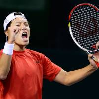 Ito sends Japan into Davis Cup World Group playoffs