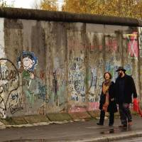 Activists rally to protect remains of hated Berlin Wall
