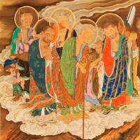 Forewarned: Kano Kazunobu's 100 scrolls depicting the lives of Buddhist arhats include 'Scroll 21 The Six Realms: Hell'